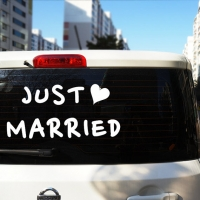 Свадебные наклейки