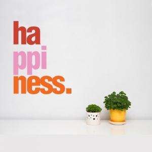 Счастье, наклейка