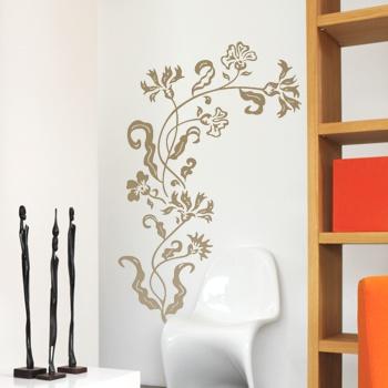 Декоративный узор - цветочная затея
