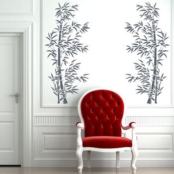 Декоративный узор - китайский бамбук