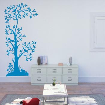 Декоративный узор - сказочное дерево