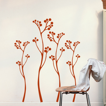 Декоративный узор - степная травка