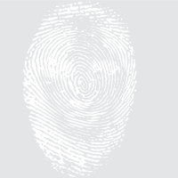 Отпечаток пальца - девушка
