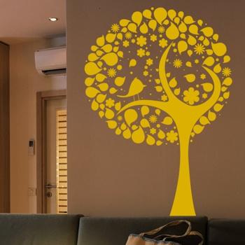 Декоративный узор - райское деревце