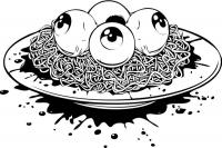 Глазные спагетти
