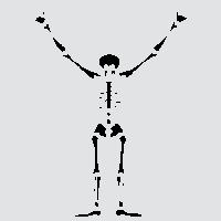 Доброжелательный скелет