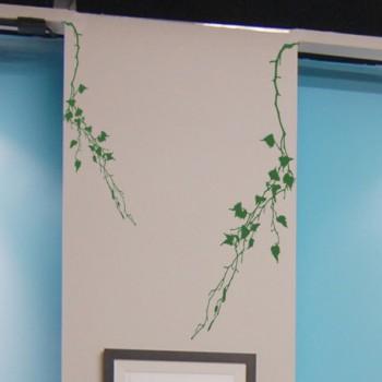 Декоративный узор - березовые ветки