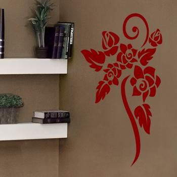 Декоративный узор - роза