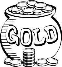 Горшочек золотых