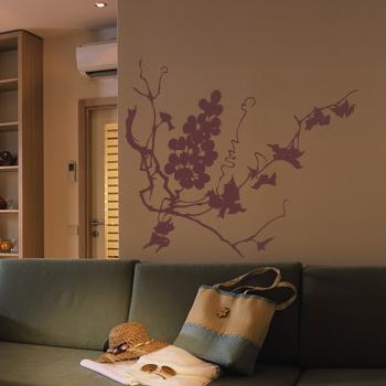 Декоративный узор - сладкий виноград