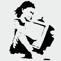 Мальчик с телевизором