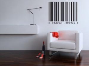 Штрих код, наклейка
