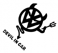 vw - devil in car