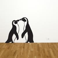 Пингвины, наклейка
