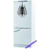 Канделябр - наклейка на холодильник