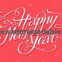 Вне времени - Наклейка Новый Год 2016