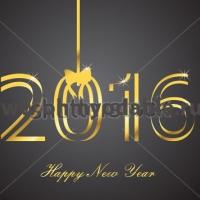 Блеск - Наклейка Новый Год 2016 15