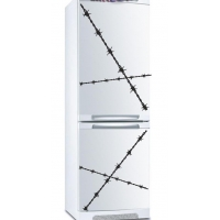 наклейка на холодильник - Не влезай