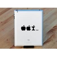 Наклейка на Apple - Огрызок