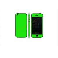 Наклейка на IPhone зеленая сверхъяркая флуоресцентная