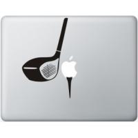 Наклейка на Apple Mac - Гольф