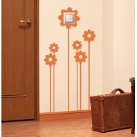 Цветы солнца - наклейка на розетку, включатель, выключатель