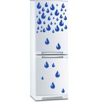 наклейка на холодильник - Капли