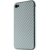 Наклейка на IPhone графит карбон 3D.