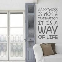 Счастье - наклейка
