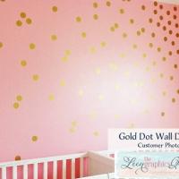Круги - наклейки стики на стену