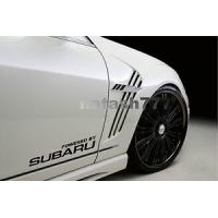 Powered by Subaru наклейка