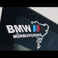 Наклейка BMW Nurburgring