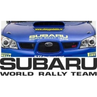 Subaru sport racing team наклейка