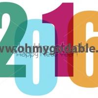 Наклейки на Новый Год