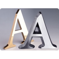 Объемные буквы и слова