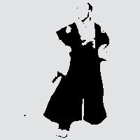 Мужественный самурай