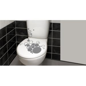 наклейка на туалет - Пузырьки