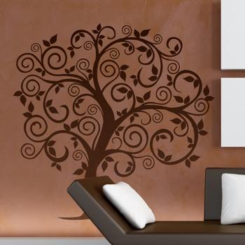 Декоративный узор - дерево молодильное