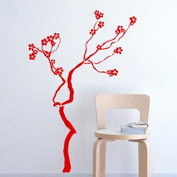 Декоративный узор - вишневое дерево