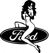 девушка Ford