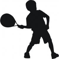маленький теннисист