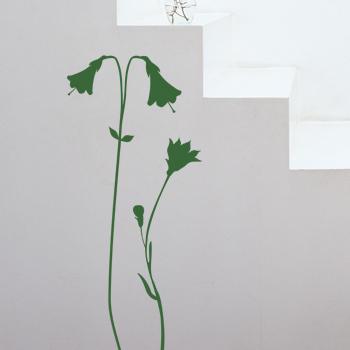 Декоративный узор - луговые цветы