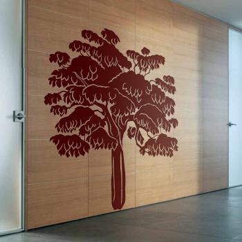 Декоративный узор - муромские леса