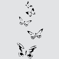 Изящные бабочки - набор