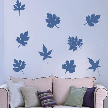 Декоративный узор - листья воспоминаний