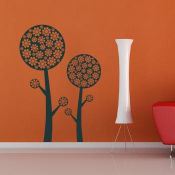 Декоративный узор - арт дерево