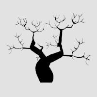 Дерево. Поздняя осень.
