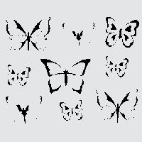 Бабочки - большой летний