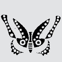 Большая  бабочка