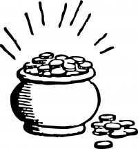Горшочек денежек